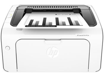 HP LaserJet Pro M12w Printer, A4, 600 dpi, up to 18 ppm, 8MB, Up to 5000 pages/month, USB 2.0, Wi-Fi 802.11b/g/n, HP ePrint, Host-based printing, CF279A Cartridge (~1000 pages) Starter ~500pages