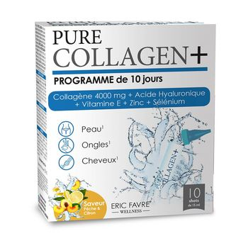 купить Collagen Pure 4000 +Acid Hyaluronic+E+Zc+Se N10*15ml Eric Favre в Кишинёве