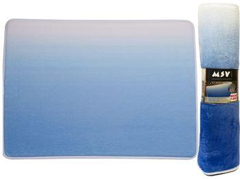 Коврик для ванной комнаты 50X70cm Sugar голубой, микрофибра