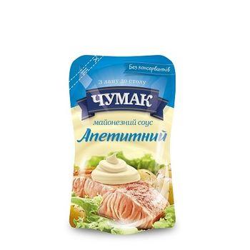 Майонез Аппетитный Чумак 160гр