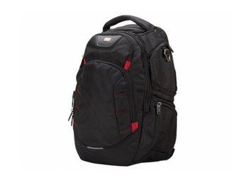 """cumpără 15.6"""" NB Backpack - SUMDEX RED (S) """"City II"""", Black în Chișinău"""