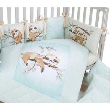 купить Veres Комплект для кроватки Lazy Sloth, 6 штк в Кишинёве