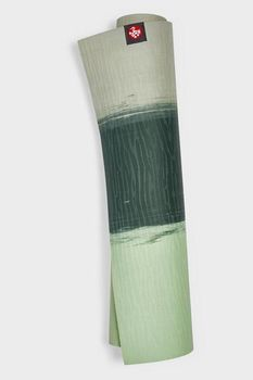 Коврик для йоги Manduka eKO lite green ash stripe  -4мм