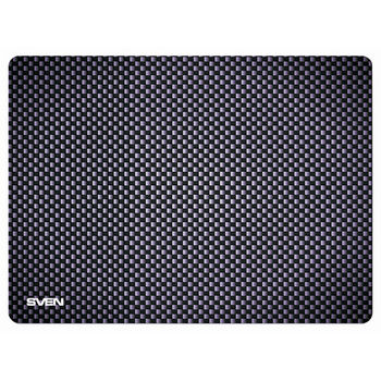 SVEN GS-S , Gaming Mouse pad, Dimensions: 335 х 240 х 3mm, Material: pique fabric + synthetic rubber, Overstitch on the edge, Non-slip rubber base