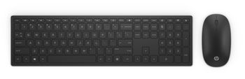 HP Pavilion Wireless Keyboard and Mouse 800, Black