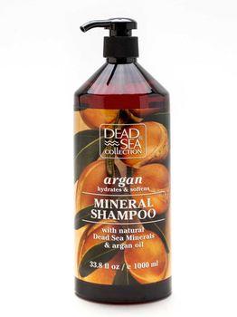 купить DSC18 Шампунь с минералами Мертвого моря и аргановым маслом 1000мл в Кишинёве