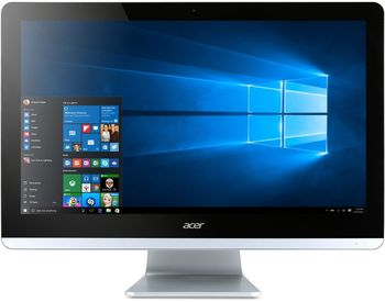 "All-in-One PC - 19.5""  ACER Aspire ZC-700 FullHD (DQ.SZ9ME.003) Intel® Pentium® N3700 up to 2,4 GHz, 4Gb DDR3 RAM, 500Gb HDD, DVDRW, Card Reader, Intel® HD Integrated Graphics, Wi-Fi/BT, Gigabit LAN, 65W PSU, FreeDOS, USB KB/MS, Black"