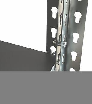 cumpără Raft metalic galvanizat Moduline 1195x305x2130 mm, 5 poliţe/0164PE antracit în Chișinău