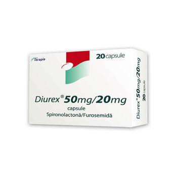 cumpără Diurex 50mg+20mg caps. N20 în Chișinău