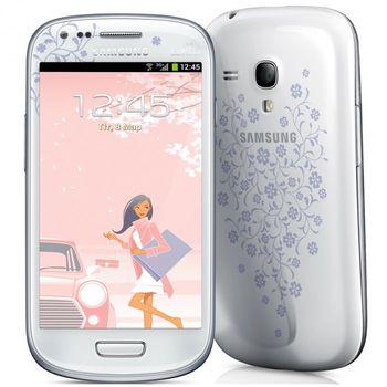 Samsung I8200 White La Fleur Galaxy S III mini Neo 8GB