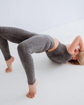 Леггинсы для йоги, пилатеса размер s