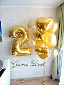 купить Набор шаров «Gold fantasy» в Кишинёве