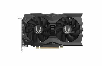 ZOTAC GeForce RTX 2070 SUPER Mini 8GB GDDR6, 256bit, 1770/14000Mhz, Dual Fan / IceStorm 2.0, HDCP, 1xHDMI, 3xDisplayPort, Spectra Lightning (White Led), Wraparound Metal Backplate, FireStorm, Medium Pack