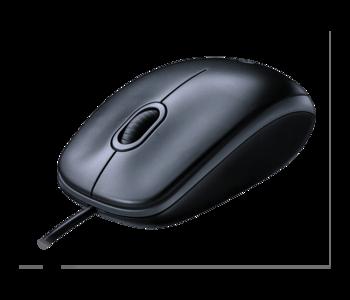 Mouse Logitech M100, Grey