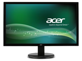 "Monitor 19.5"" ACER LED K2 K202HQLb Glossy Black (5ms, 100M:1, 200cd, 1600x900, VESA) [UM.IW3EE.001]"