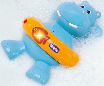 купить Chicco Игрушка для ванны Гиппопотам в Кишинёве