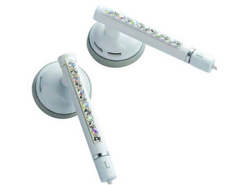 "E11011 ELECOM WAND ""Gem Drops"" Jewel Type Stereo Headphones - (White, Opal white), 20 Hz to 20 kHz, 32 Ohm, 104 dB/1 mW (mini casti/мини наушники)"