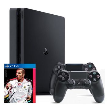 PlayStation PS 4 Slim 1TB + FIFA 20 + 2nd Controller + 14 Days PS Plus