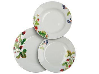 "Набор посуды ""Olimpia Fragole"" 12ед, ягоды"