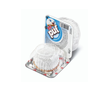 cumpără Biscuit cu bezea, acoperit cu fulgi de cocos Eti Puf Coconut, 16 gr. în Chișinău