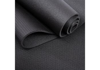 Коврик для йоги 185x66x0.55 см PVC Bodhi Virabhadrasana 994BL (4818)