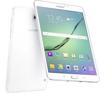 "8.0"" - Samsung Galaxy Tab S2 8.0 (2016) T713 32 GB white, SuperAMOLED 2048x1536, OctaCore up to 1.8GHz, Adreno 510, 3GB RAM, 32GB flash drive, 8MP back, 2.1MP front camera, 4000mAh, MicroSD, WiFi-AC/BT4.1, GPS, Android 6.0, Fingerprint"