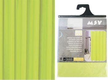 Шторка для душа 180X200cm зелeная, PVA
