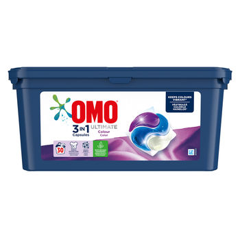 Omo Ultimate Trio Capsule Color, 30 шт.