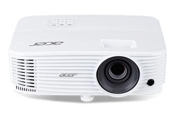ACER P1250 (MR.JPL11.001) DLP 3D, XGA, 1024x768, 20000:1, 3600Lm, 10000hrs (Eco), 1*HDMI(MHL), 1*HDMI, 2*VGA, Wi-Fi (optional), 10W Mono Speaker, Bag, White, 2.4kg