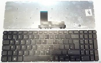 "Keyboard Toshiba Satellite L55-B L55D-B L55T-B L50-B L50D-B L50T-B L50-C S50-B S50T-B S50DT-B S50D-B S55-B S55T-B w/o frame ""ENTER""-big ENG. Black"