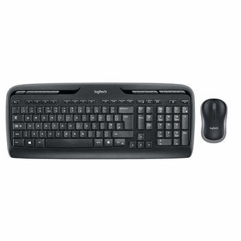 купить Клавиатура Logitech Wireless Desktop MK330 Multimedia Keyboard & Mouse в Кишинёве
