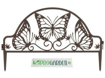 """купить Забор для сада/огорода декоративный 50Х32cm """"бабочка"""" в Кишинёве"""