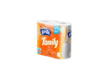 cumpără F2119-GRITE-Hirtie WC 3str FAMILY 4 buc în Chișinău