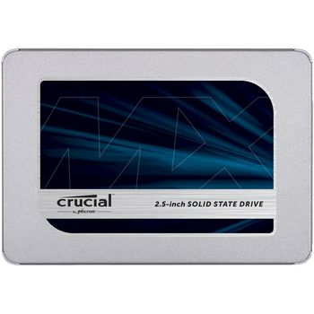 "2.5"" SSD 250GB  CRUCIAL MX500, SATAIII, SeqReads: 560 MB/s, SeqWrites: 510 MB/s,  Random Reads/Writes 95K IOPS/90K IOPS, AES 256bit, PLP, 7mm, Controller SMI SM2258XT, Micron's 64-layer 3D NAND TLC"