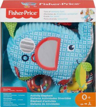 """Мягкая игрушка-подвеска """"Слоник"""" Fisher-Price, код FDC58"""