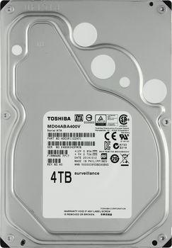 "3.5"" HDD 4.0TB  Toshiba MD04ABA400V, Surveillance™, LowSpin, 128MB, SATAIII"