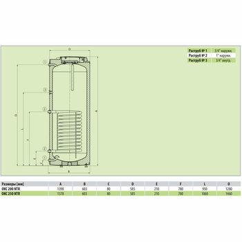 cumpără Boilerul de încălzire indirectă Drazice OKC 200 NTR în Chișinău