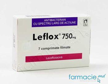 купить Лефлокс таблетки в оболочке 750 мг № 7 в Кишинёве