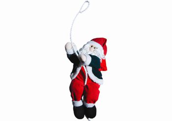 Дед Мороз на веревке