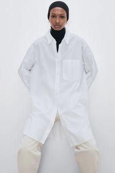 Блуза ZARA Белый 8779/201/250