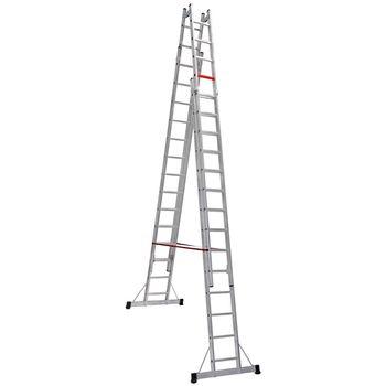 купить Четырех-секционная двухсторонняя стремянка (2x14ст) TA004 в Кишинёве