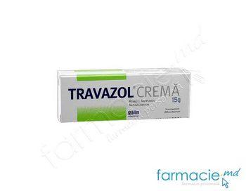 купить Травазол® крем 10 мг + 1 мг/г 15 г N1 в Кишинёве