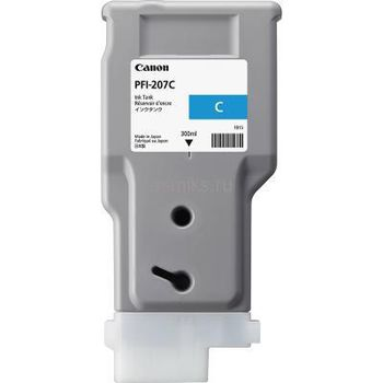 Ink Cartridge Canon PFI-207 C, cyan, 300ml for iPF785