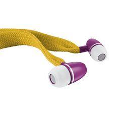 Trust  Urban Revolt Headset/ Lace In-Ear Headphone, Mustard Yellow