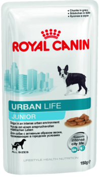 купить Royal Canin  URBAN LIFE JUNIOR WET 150 gr в Кишинёве
