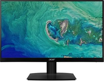 "23.8"" ACER IPS LED HA240YBID Glossy Black (4ms, 100M:1, 250cd, 1920x1080, DVI,HDMI)[UM.QW0EE.001]"