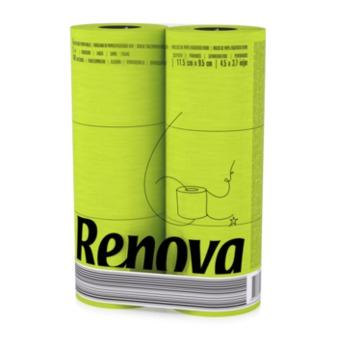 cumpără Renova Hârtie igienică Red Green (6) în Chișinău