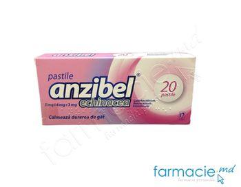 cumpără Anzibel® echinacea pastile 5 mg/4 mg/3 mg  N10x2 în Chișinău