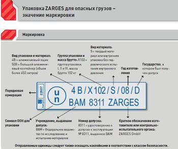 купить контейнер-ящик ZARGES - Упаковочный серия Y в Кишинёве