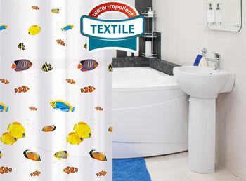 купить Tatkraft BLUE LAGOON штора для ванной 14640 в Кишинёве